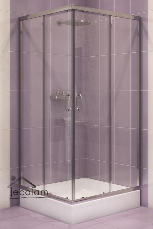 duschkabine duschabtrennung viereck schiebet r glas 80x80 180 cm transparent s c ebay. Black Bedroom Furniture Sets. Home Design Ideas