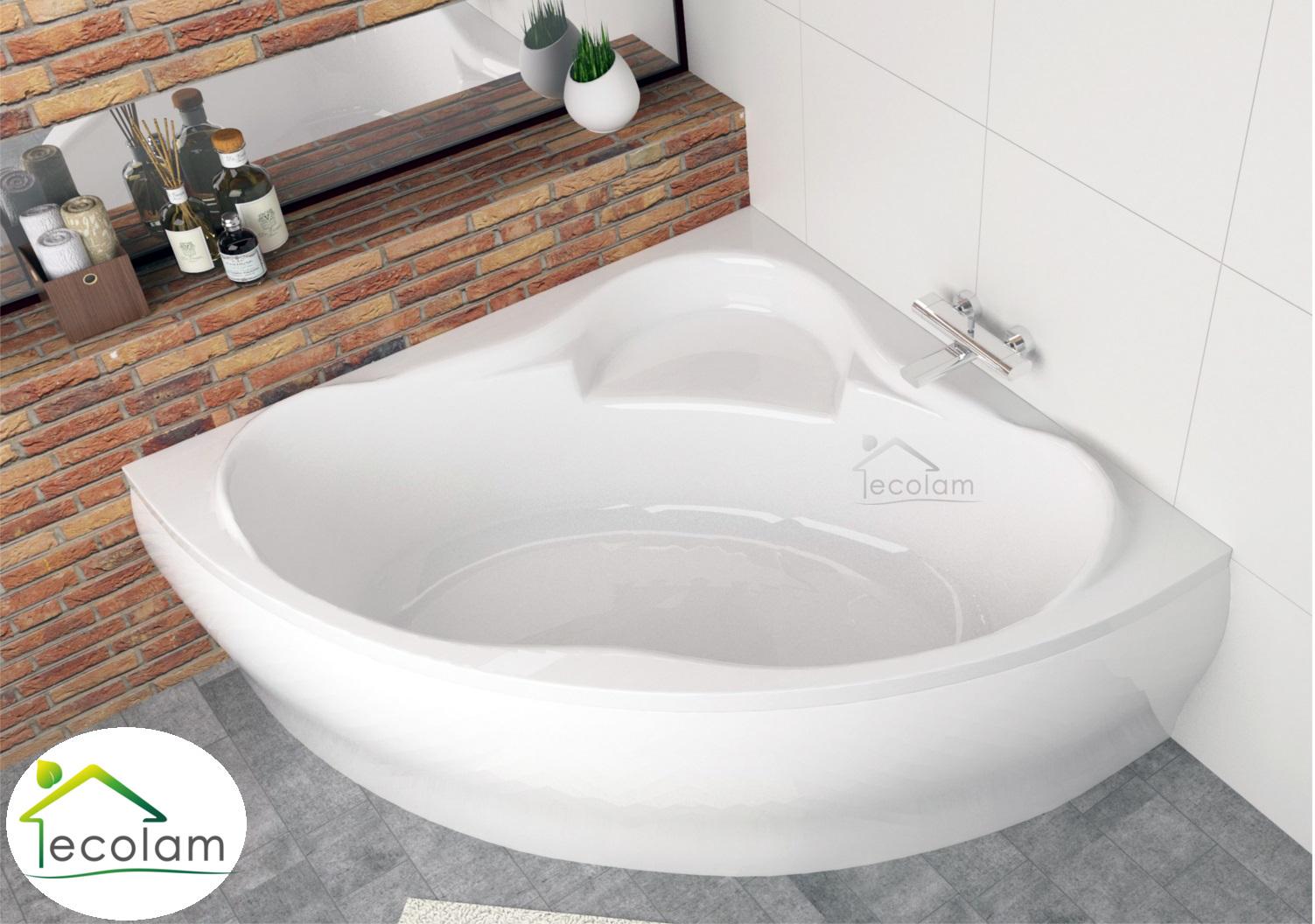 badewanne wanne eckbadewanne symmetrisch acryl 150 x 150 sch rze ab berlauf ebay. Black Bedroom Furniture Sets. Home Design Ideas