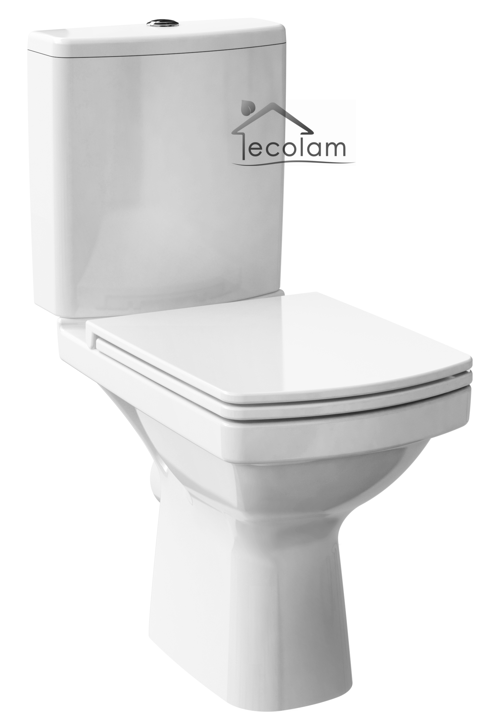 wc toilette stand tiefsp ler sp lkasten clean pro keramik beschichtet soft close ebay. Black Bedroom Furniture Sets. Home Design Ideas