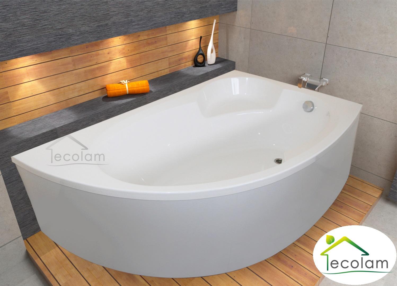 badewanne wanne acryl eckbadewanne 170 x 100 sch rze. Black Bedroom Furniture Sets. Home Design Ideas