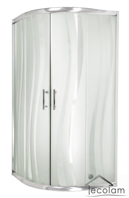 duschkabine duschwanne viertelkreis acryl 90 x 90 x 17 r 55 glas h 180 welle ebay. Black Bedroom Furniture Sets. Home Design Ideas
