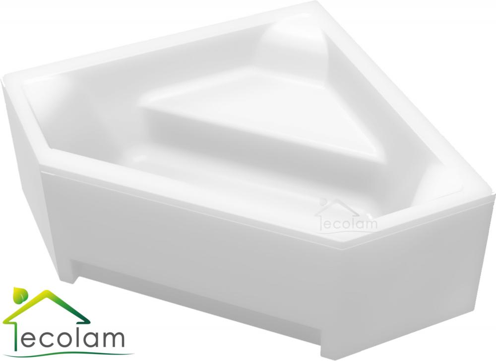 badewanne wanne acryl eckwanne eckig 140 x 140 cm ohne mit sch rze ablauf b ebay. Black Bedroom Furniture Sets. Home Design Ideas