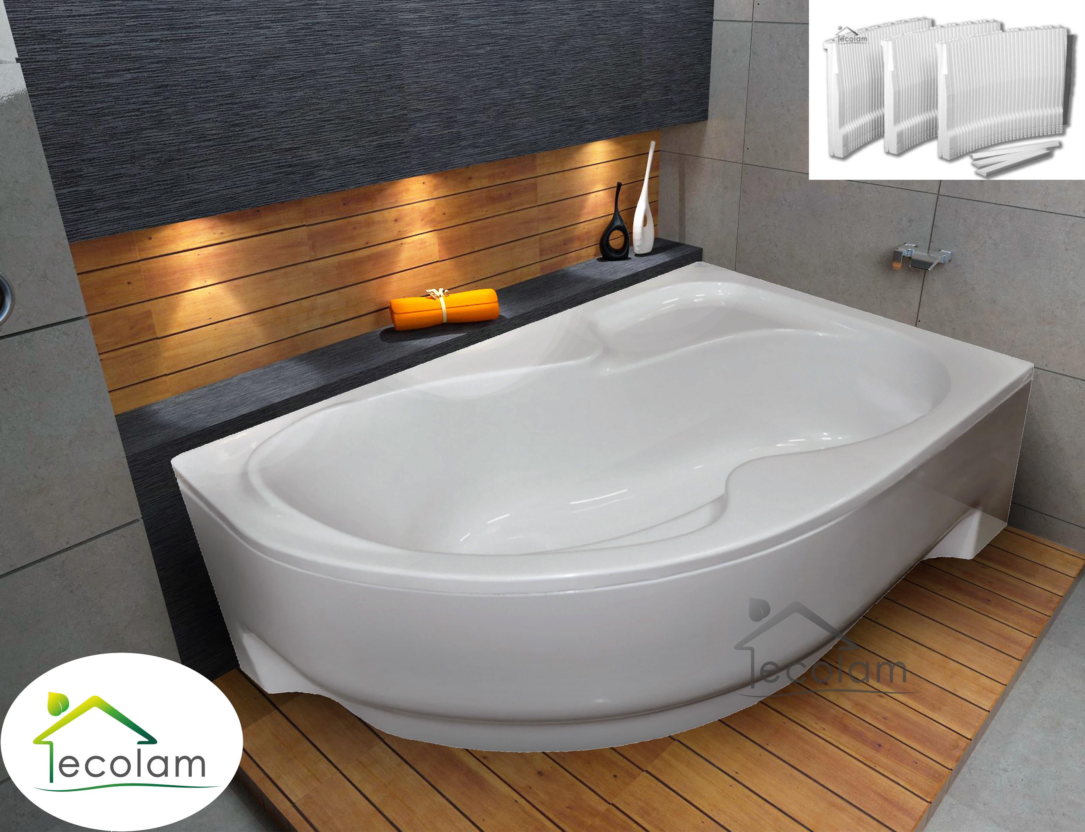 badewanne wanne eckwanne acryl 150 160 170 x 100 cm. Black Bedroom Furniture Sets. Home Design Ideas