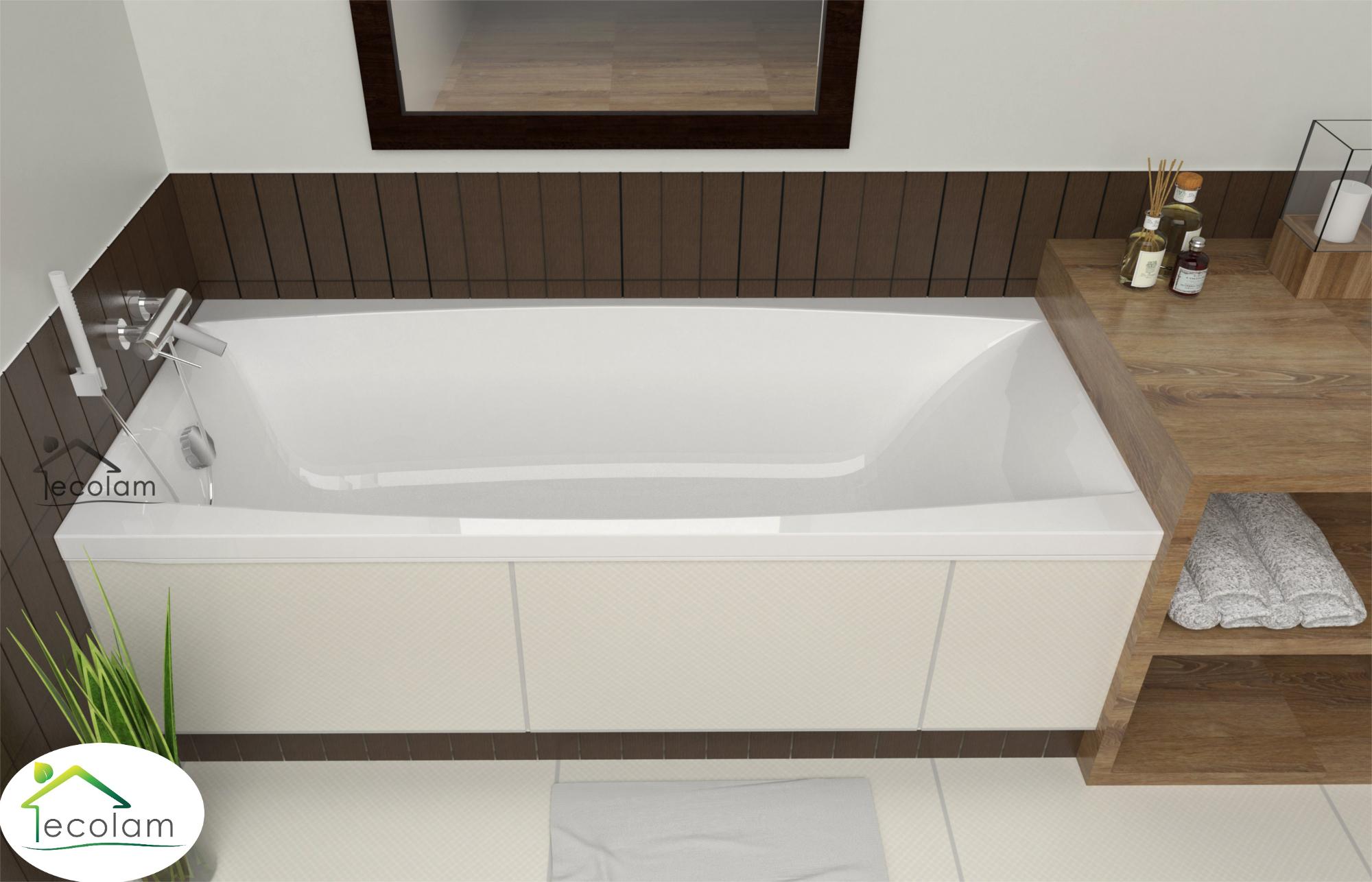 badewanne wanne rechteck acryl 180 x 80 cm f e ab. Black Bedroom Furniture Sets. Home Design Ideas