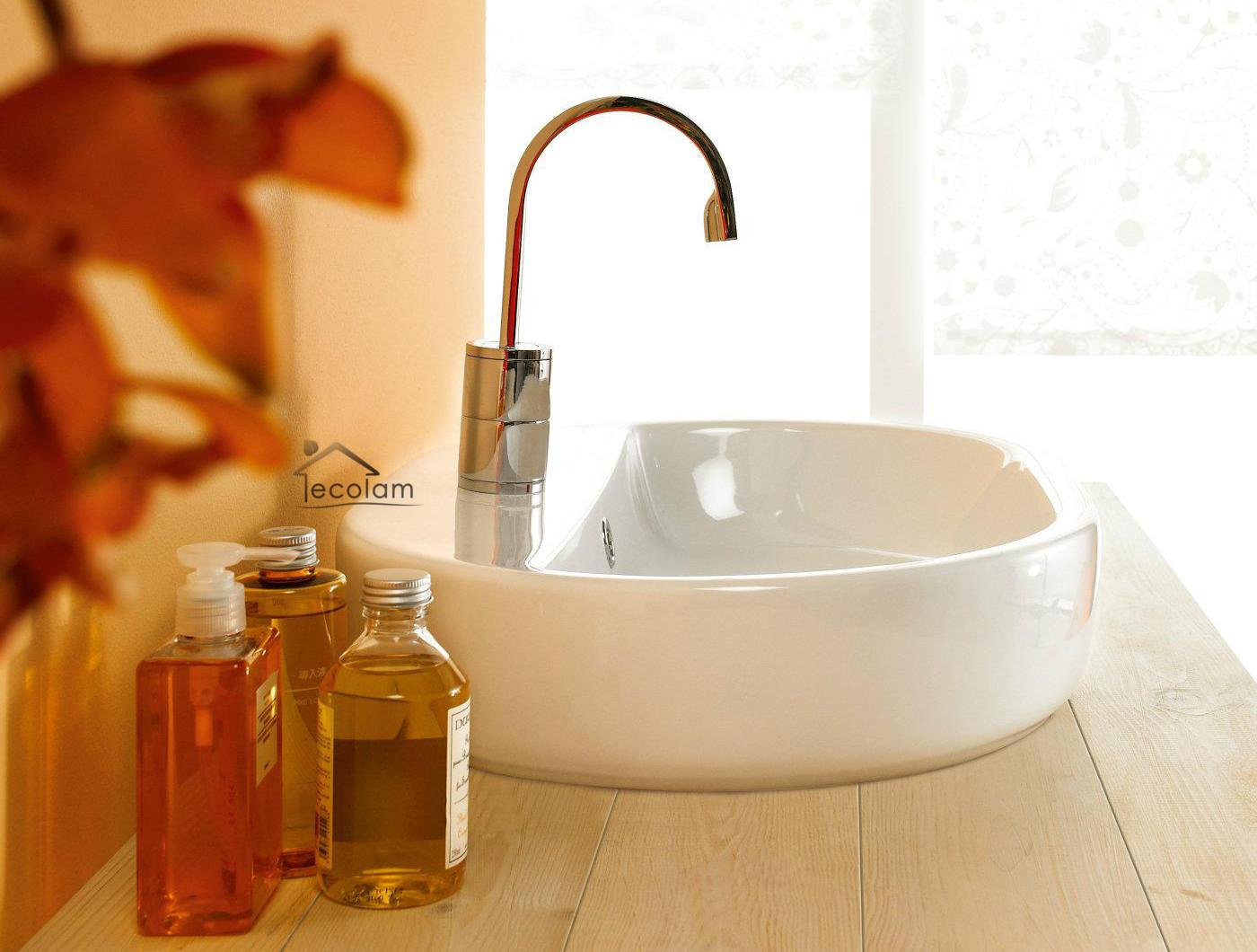 aufsatzwaschbecken 60 x 42 cm waschtisch waschbecken wei. Black Bedroom Furniture Sets. Home Design Ideas