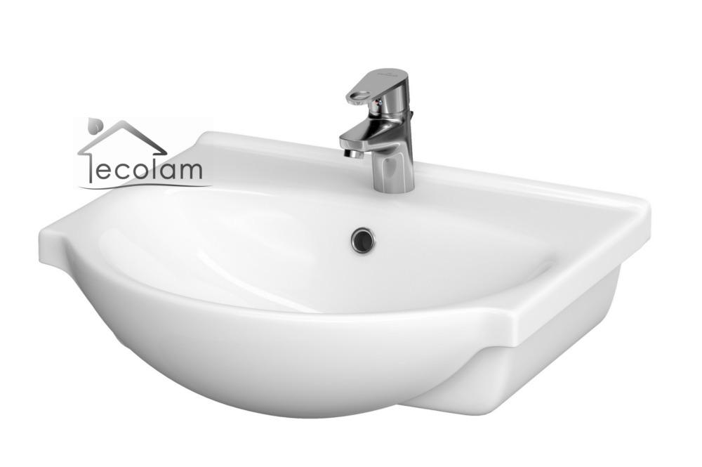 badm bel waschbecken unterschrank schrank t ren schublade 50 cm siphon s n ebay. Black Bedroom Furniture Sets. Home Design Ideas