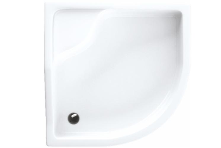 duschwanne duschtasse viertelkreis 90 x 90 x 41 x 15 cm r55 sch rze f e sitz ebay. Black Bedroom Furniture Sets. Home Design Ideas