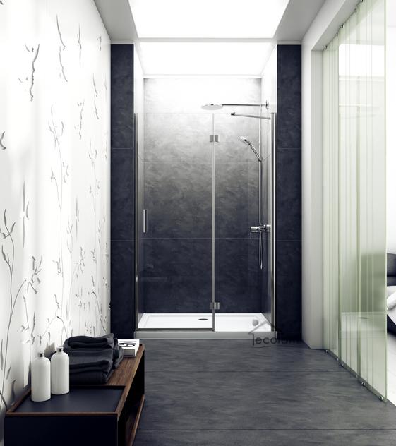 duschwanne duschtasse rechteck barrierefrei 100 x 80 x 5 5 cm ablauf flach casp. Black Bedroom Furniture Sets. Home Design Ideas