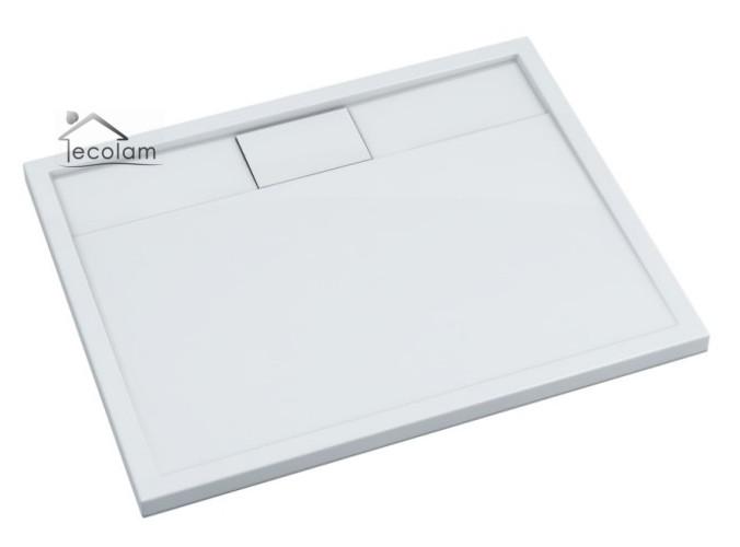 duschwanne duschtasse rechteck high quality 80 x 100 x 5 x 1 8 cm flach lapis ebay. Black Bedroom Furniture Sets. Home Design Ideas