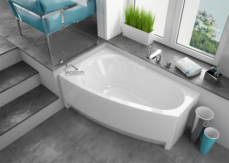 badewanne wanne eckbadewanne 150 x 90 cm f e sch rze. Black Bedroom Furniture Sets. Home Design Ideas