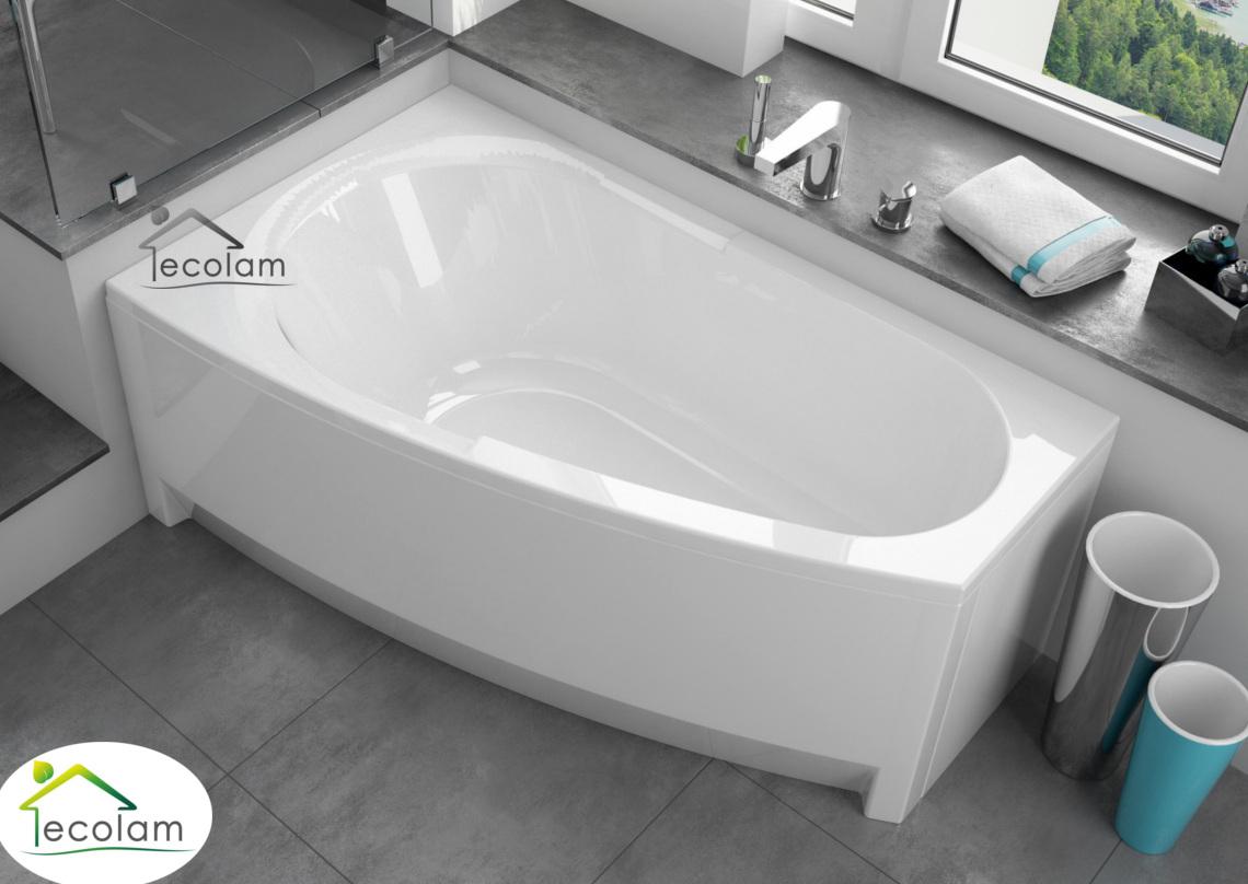 badewanne wanne eckbadewanne 150 x 90 cm mit ohne sch rze ablauf acryl links ebay. Black Bedroom Furniture Sets. Home Design Ideas