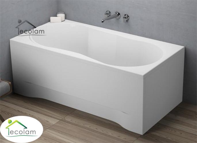 badewanne wanne rechteck acryl 140 x 70 cm sch rze ablauf silikon gracja ebay. Black Bedroom Furniture Sets. Home Design Ideas