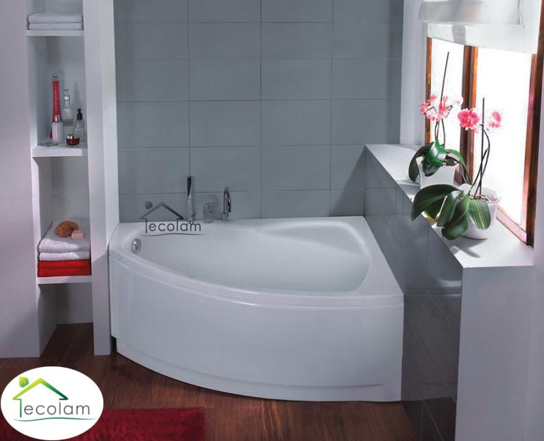 badewanne wanne eckwanne 150 x 90 ohne mit sch rze ablauf f e acryl rechts ebay. Black Bedroom Furniture Sets. Home Design Ideas