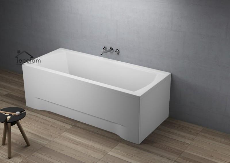 badewanne wanne rechteck acryl 180 x 80 cm mit ohne sch rze ablauf mitte f e i ebay. Black Bedroom Furniture Sets. Home Design Ideas