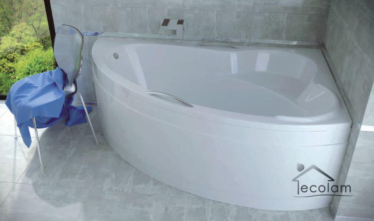 badewanne wanne eckig eckwanne 160 x 100 cm ohne mit. Black Bedroom Furniture Sets. Home Design Ideas