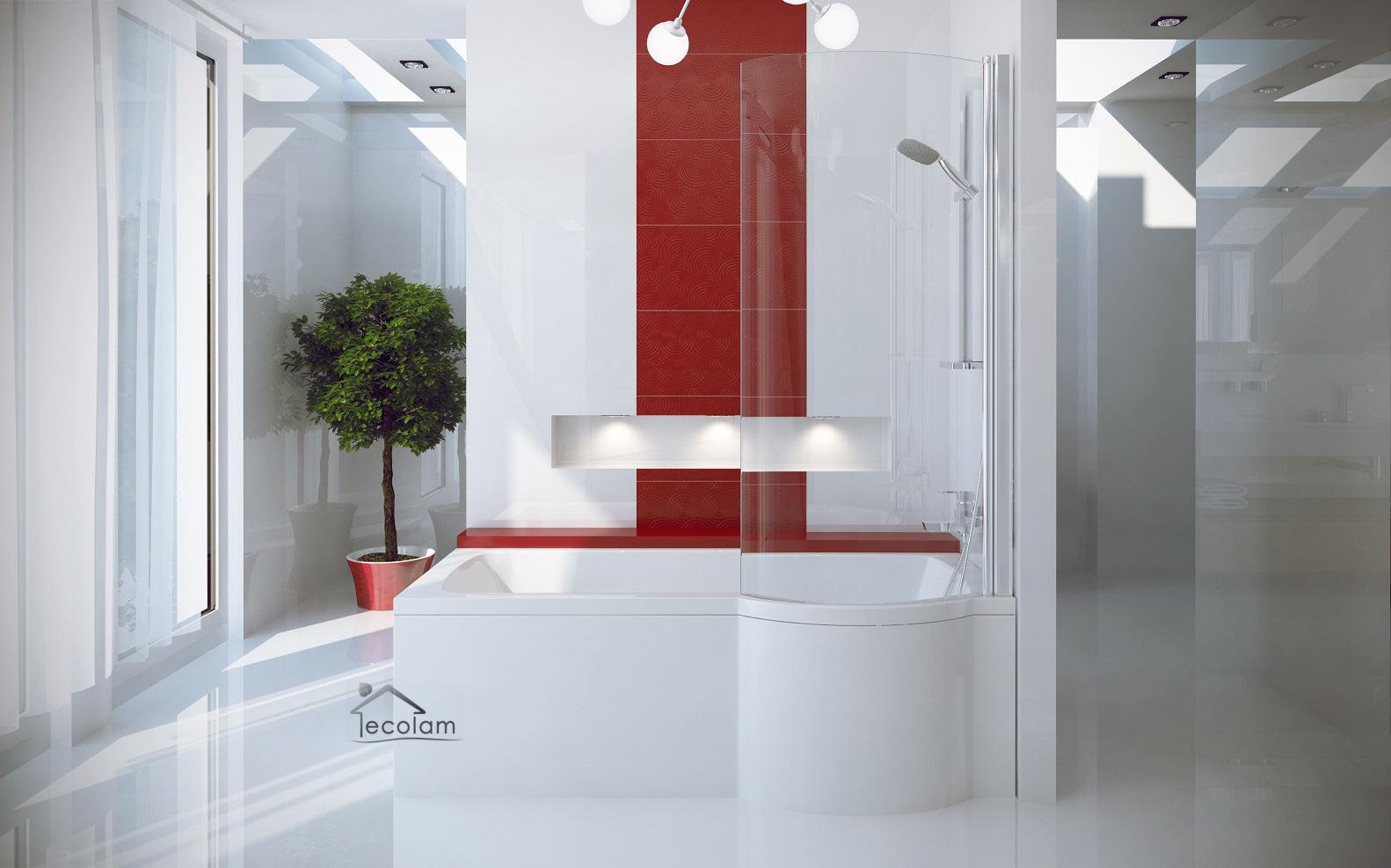 badewanne badewannenabtrennung duschwand eckwanne rechteck 150 x 70 cm rechts ebay. Black Bedroom Furniture Sets. Home Design Ideas