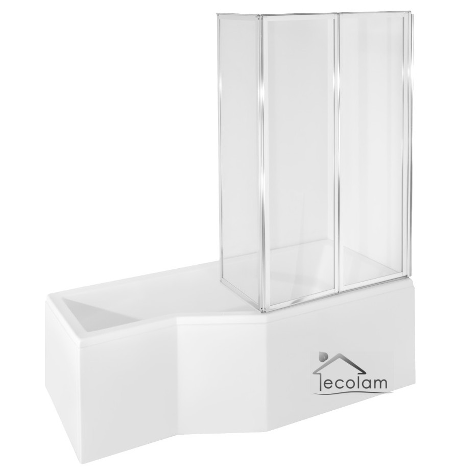 Eckbadewanne mit duschwand  PostaPlan.com = Badewanne Duschwand Montage ~ Badewanne Design ...