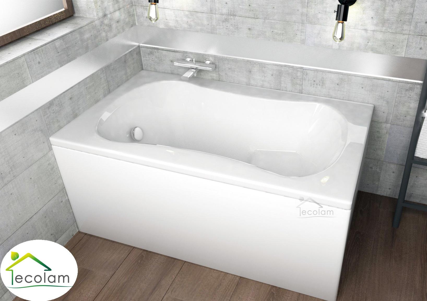 badewanne wanne rechteck sitzbadewanne mit sitz 120 x 70 optional sch rze acryl ebay. Black Bedroom Furniture Sets. Home Design Ideas