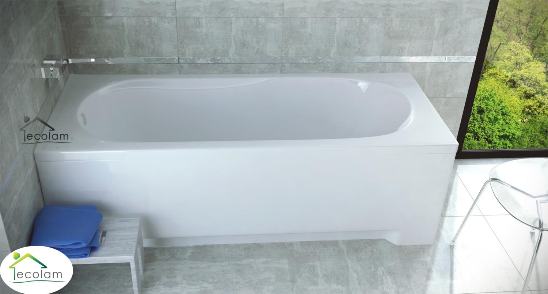 badewanne wanne rechteck 170 x 70 cm mit ohne sch rze f e ablauf acryl pmd b ebay. Black Bedroom Furniture Sets. Home Design Ideas