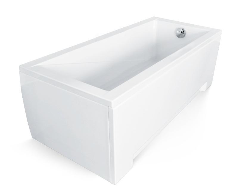 badewanne rechteck wanne 120 130 140 150 160 170 x 70 cm ohne/mit, Hause ideen