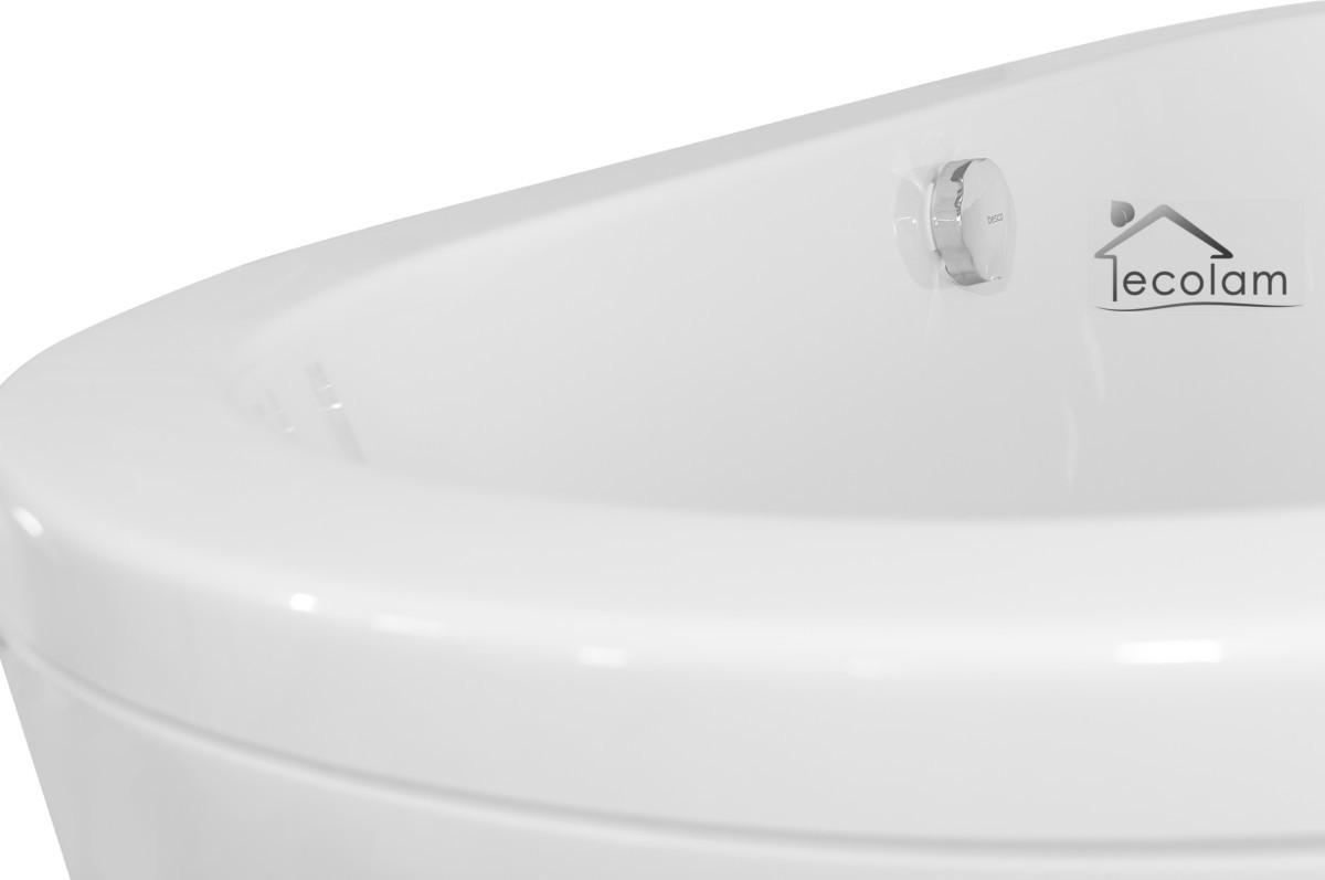 Rechteckige Freistehende Badewanne 160 : Freistehende Badewanne Wanne Acryl 160 x 75 cm Schürze Silikon Ablauf ...