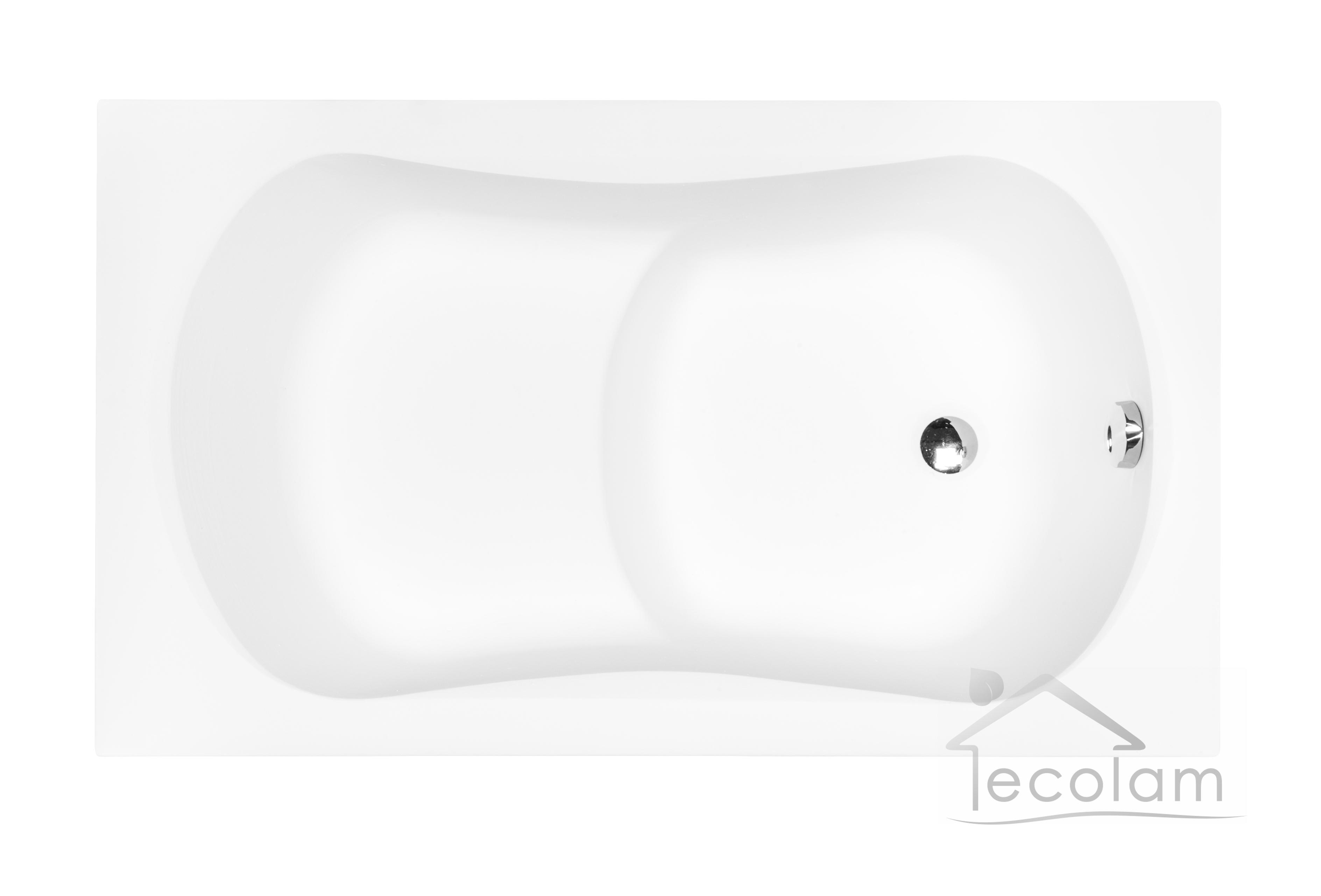 badewanne wanne rechteck sitzbadewanne mini mit sitz 120 x 70 cm ablauf acryl ebay. Black Bedroom Furniture Sets. Home Design Ideas