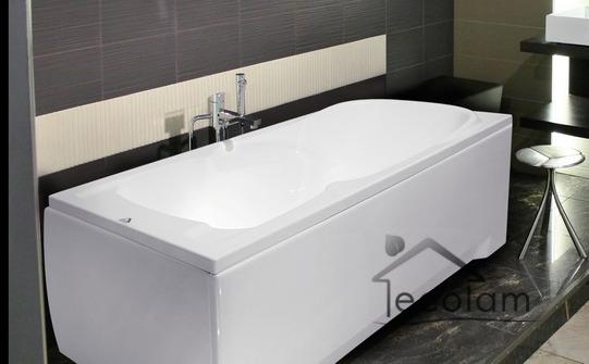 badewanne wanne rechteck eckwanne 120 x 70 cm sch rze ab berlauf silikon m ebay. Black Bedroom Furniture Sets. Home Design Ideas
