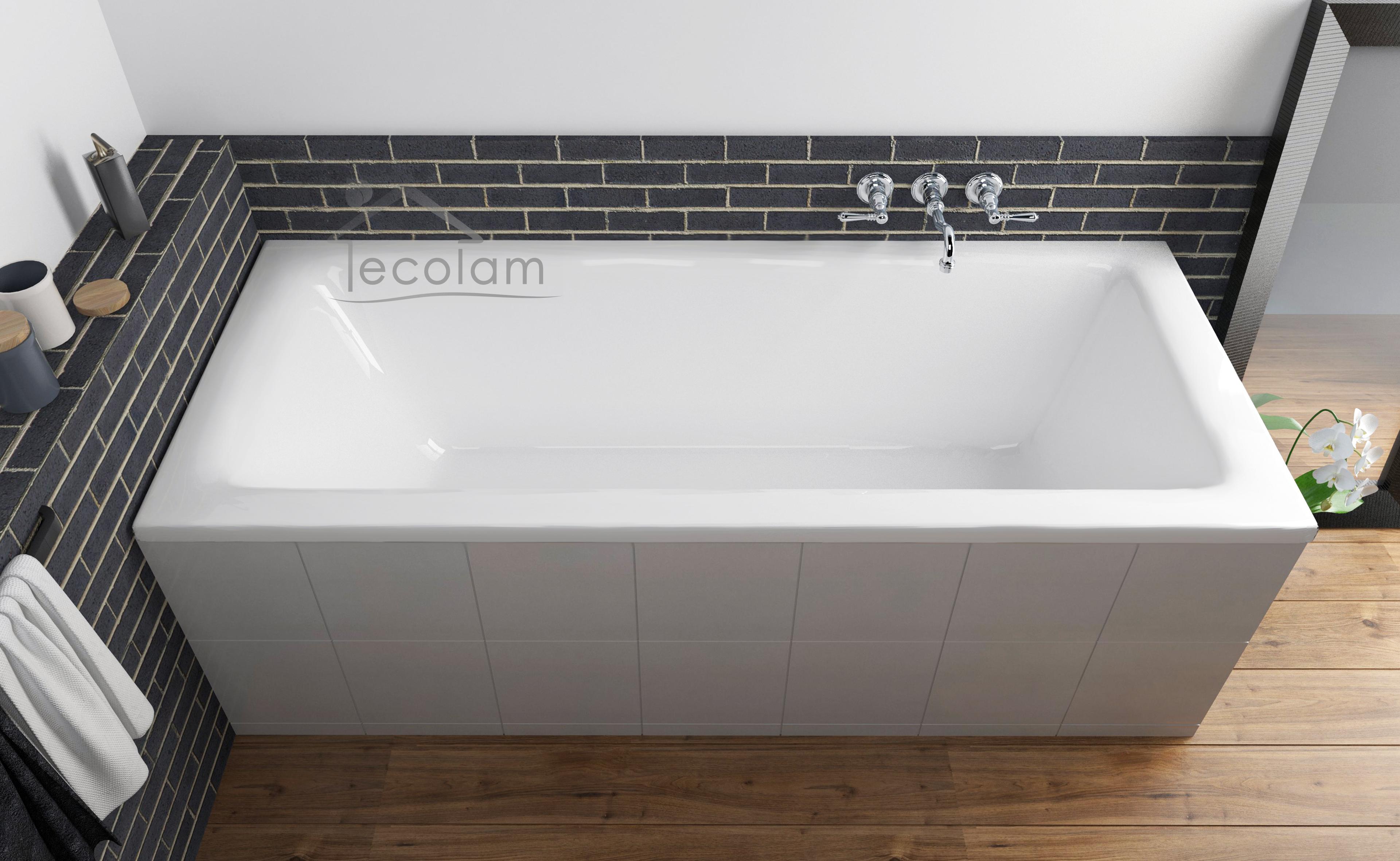 badewanne wanne rechteck 160 x 75 f e ablauf silikon. Black Bedroom Furniture Sets. Home Design Ideas