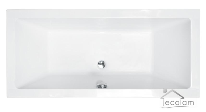 badewanne wanne rechteck bad acryl 180 x 80 cm ab und. Black Bedroom Furniture Sets. Home Design Ideas