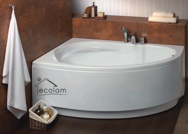 badewanne wanne eckbadewanne ablauf 150 x 100 cm ohne mit sch rze acryl links ebay. Black Bedroom Furniture Sets. Home Design Ideas