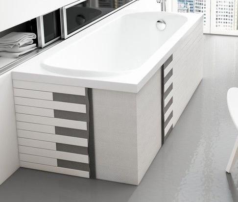 badewanne wanne rechteck acryl 120 x 70 cm wannentr ger styropor ablauf silikon ebay. Black Bedroom Furniture Sets. Home Design Ideas