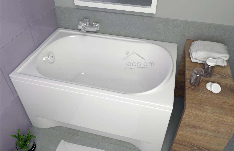 badewanne wanne rechteck verkleidung styropor 100x65. Black Bedroom Furniture Sets. Home Design Ideas
