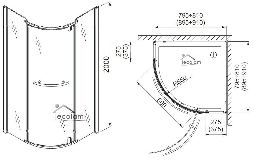 dusche halbrund dichtung raum und m beldesign inspiration. Black Bedroom Furniture Sets. Home Design Ideas