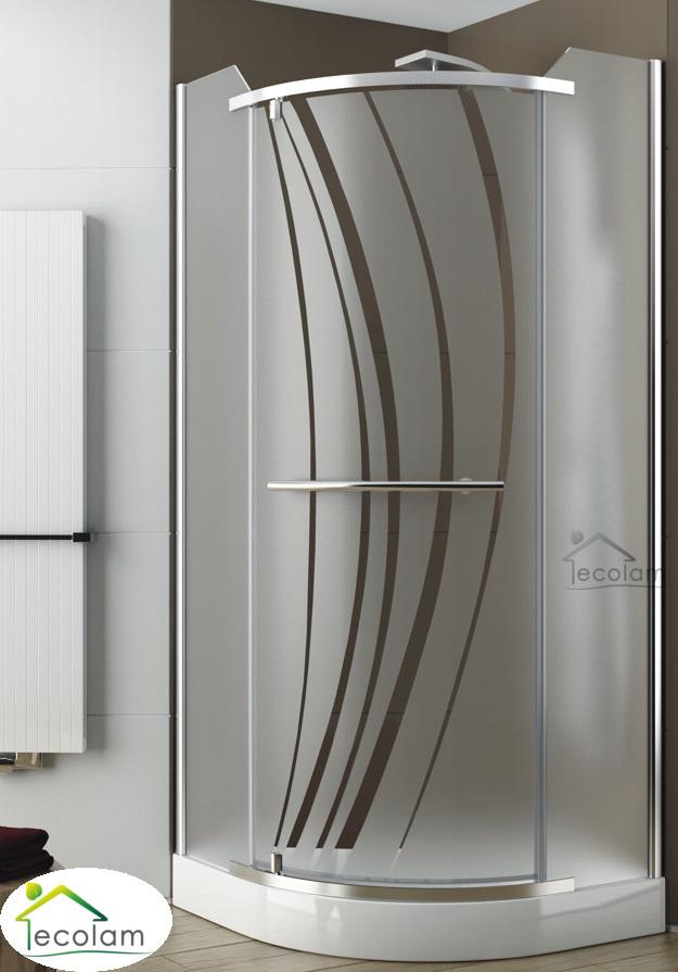 duschkabine dusche viertelkreis glas echtglas 90x90 200 cm. Black Bedroom Furniture Sets. Home Design Ideas