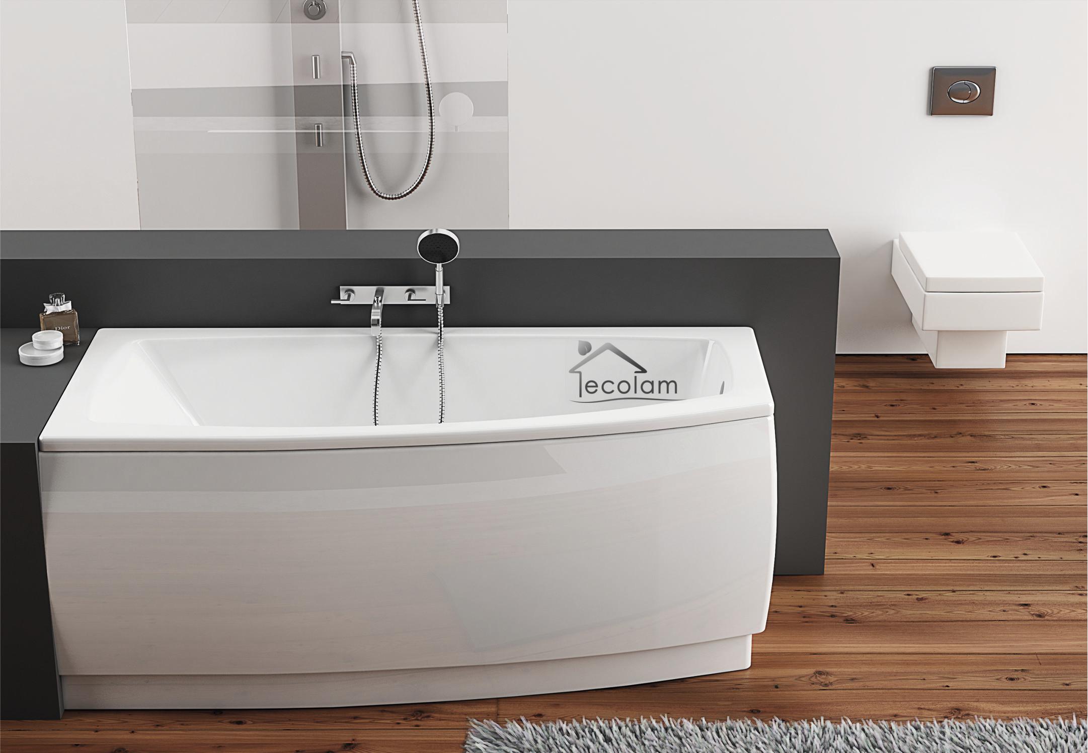 badewanne eckbadewanne wanne 160 x 70 cm ohne mit sch rze acryl ablauf links a a ebay. Black Bedroom Furniture Sets. Home Design Ideas