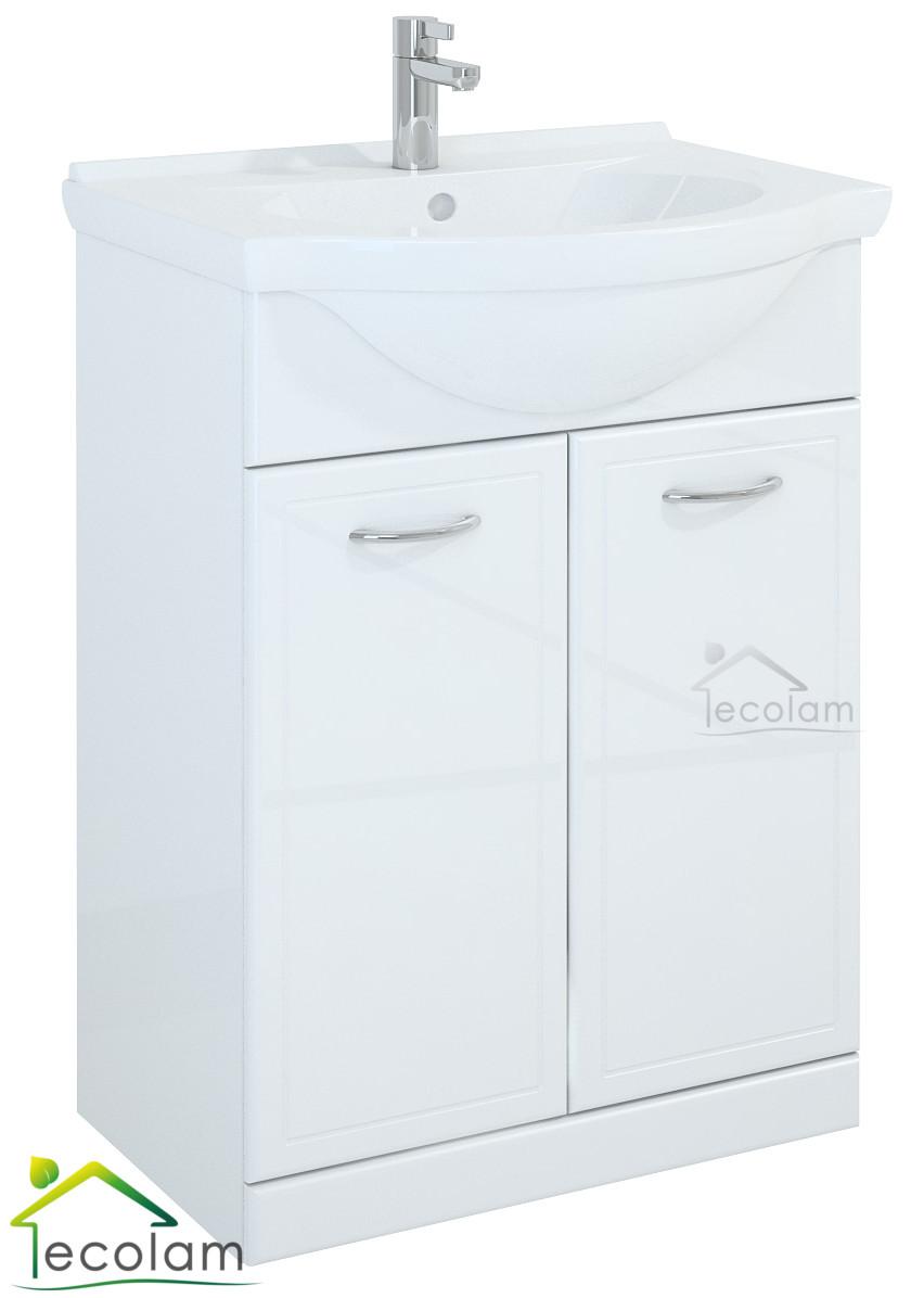 badm bel waschbecken set 65 cm waschtisch. Black Bedroom Furniture Sets. Home Design Ideas