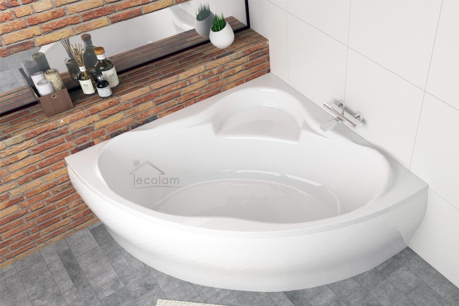 badewanne wanne eckbadewanne 150 x 150 cm optional sch rze. Black Bedroom Furniture Sets. Home Design Ideas