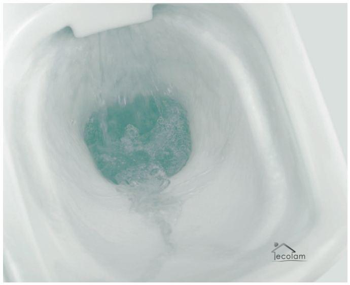 wc toilette stand tiefsp ler sp lkasten clean on sp lrandlos sitz soft close pa ebay. Black Bedroom Furniture Sets. Home Design Ideas
