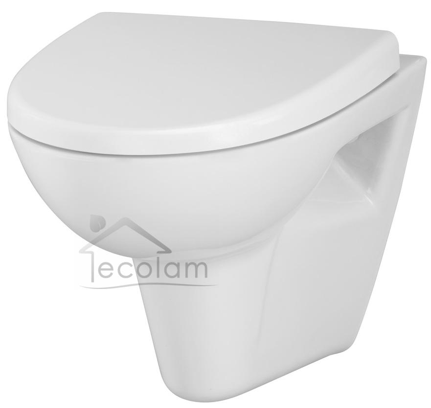 wc toilette h ngend wandh ngend sp lrandlos clean on tiefsp ler soft close p ebay. Black Bedroom Furniture Sets. Home Design Ideas
