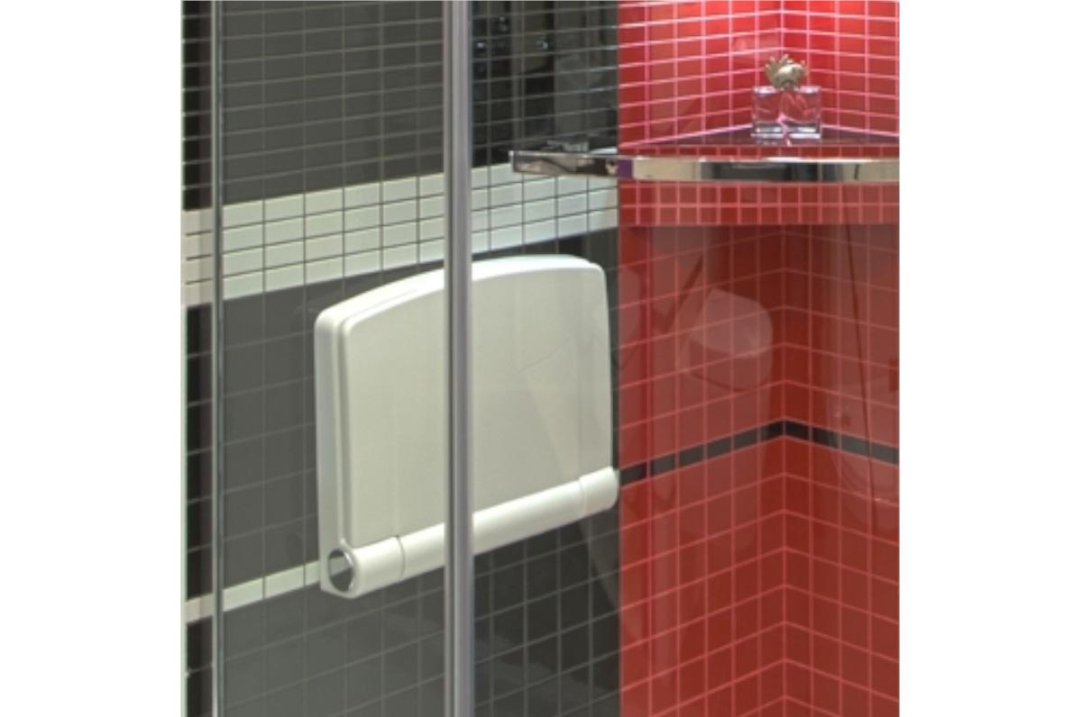 Duschsitz Duschklappsitz Klappsitz Badehilfe Sitz Soft-Close Automatik 110 kg