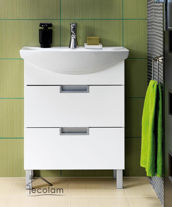 badm bel waschbecken 65 cm waschtisch waschbeckenunterschrank schubladen d o ebay. Black Bedroom Furniture Sets. Home Design Ideas