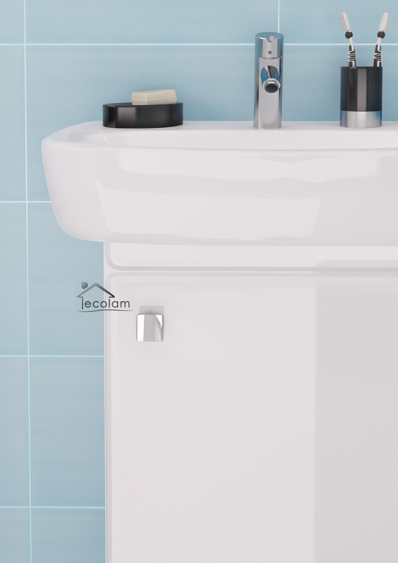 badm bel waschbecken 55 cm waschtisch. Black Bedroom Furniture Sets. Home Design Ideas