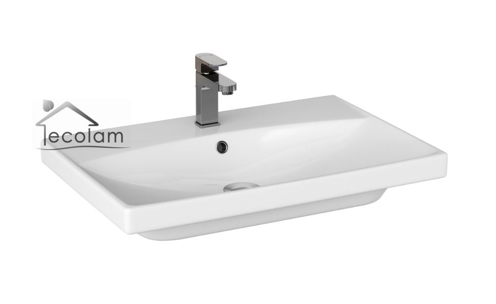 badm bel waschbecken schrank h ngend 50 60 70 cm schubladen push to open c ebay. Black Bedroom Furniture Sets. Home Design Ideas