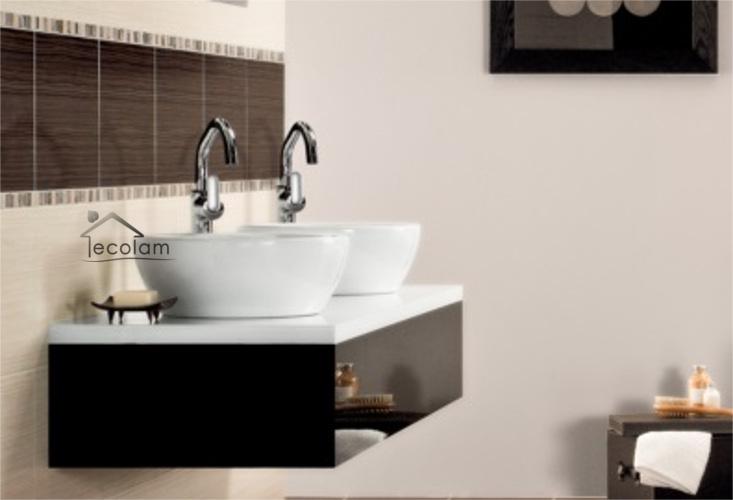 aufsatzwaschbecken 47 x 47 cm waschtisch waschbecken wei aufsatzwaschtisch rund 5902574457424. Black Bedroom Furniture Sets. Home Design Ideas