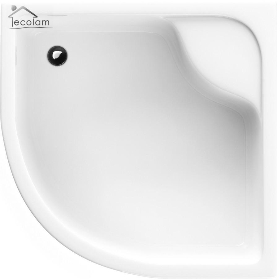 Dusche Duschwanne 80 x 80 mit Träger und Ablauf