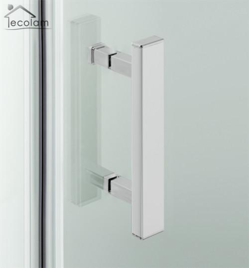 duschkabine dusche viertelkreis bodeneben zwei t ren 90x90x195 cm easyclean r 55 ebay. Black Bedroom Furniture Sets. Home Design Ideas