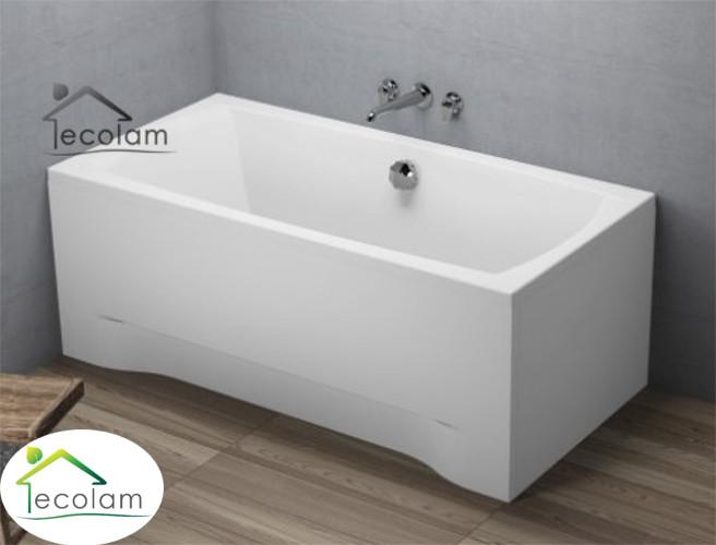 badewanne wanne rechteck 150 x 70 cm sch rze ablauf mitte. Black Bedroom Furniture Sets. Home Design Ideas