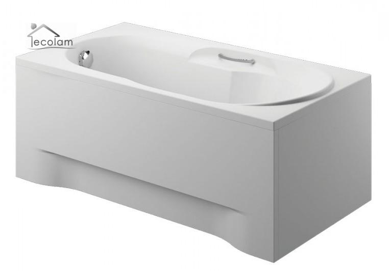 badewanne wanne rechteck eckwanne 150 x 75 cm sch rze ablauf handgriffe f e ebay. Black Bedroom Furniture Sets. Home Design Ideas