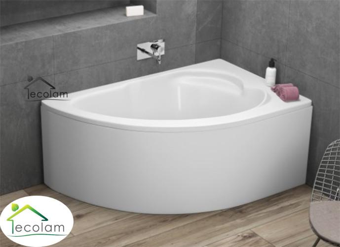 badewanne eckbadewanne acryl 130 x 85 cm sch rze ab. Black Bedroom Furniture Sets. Home Design Ideas