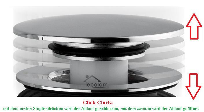 waschtischarmatur f r aufsatzbecken armatur hoch kreuzgriff click clack modern 5902574424334. Black Bedroom Furniture Sets. Home Design Ideas